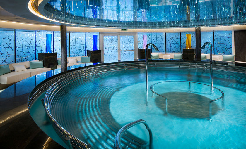 greenhouse Spa von Reederei Holland America Line