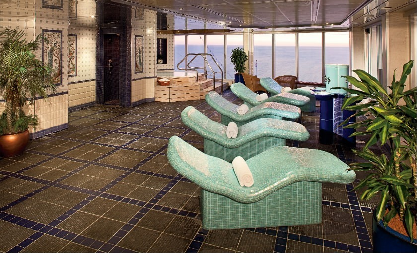 Spa & Wellness an Bord von Holland America Line