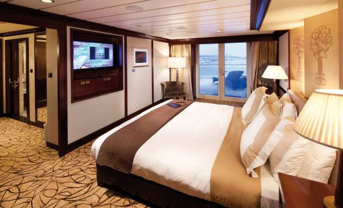 Penthouse Suite auf dem Celebrity Constellation