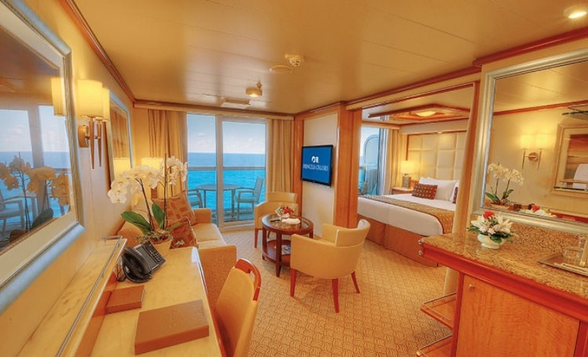 Suite auf der Regal Princess